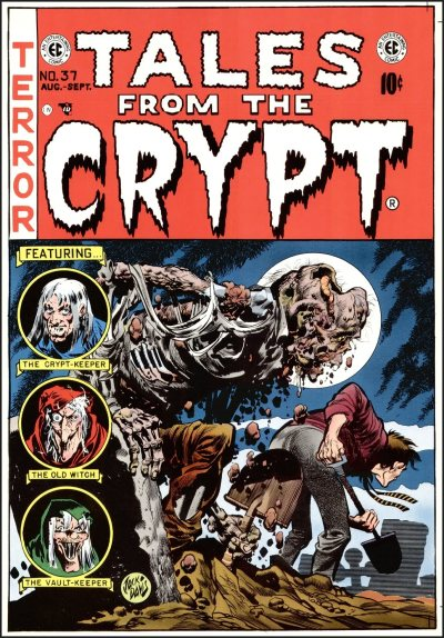 Tales From the Crypt would later become a hit HBO series from 1989-1996.