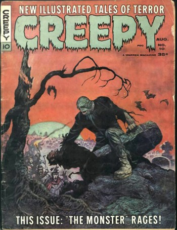 Creepy, undoubtedly inspired by its EC Comics forerunners.