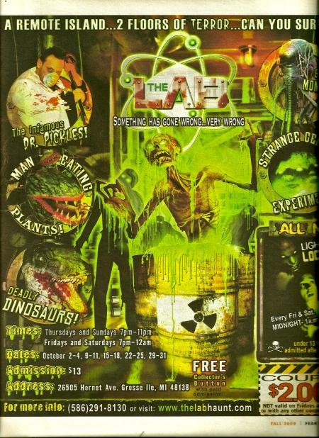 Fear Finder, 2009