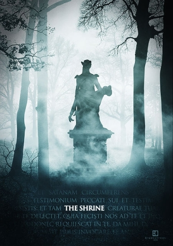 Promotional poster from the 2010 film, The Shrine.
